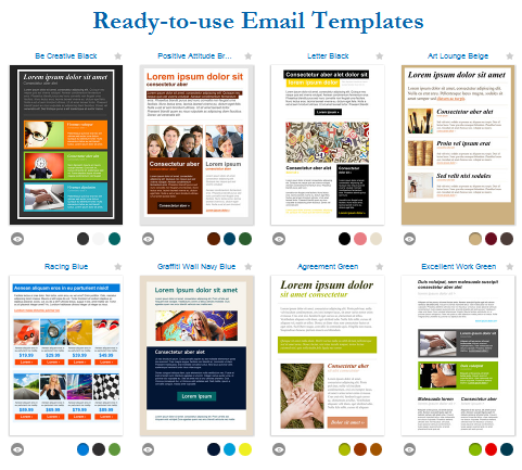 email advertisement template