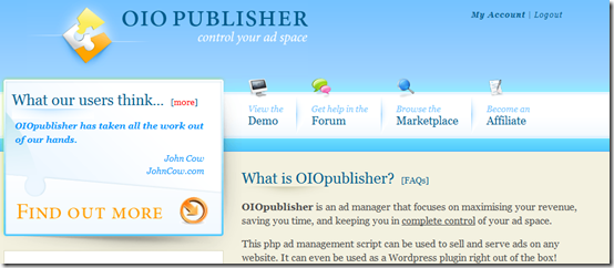oio publisher wordpress plugin
