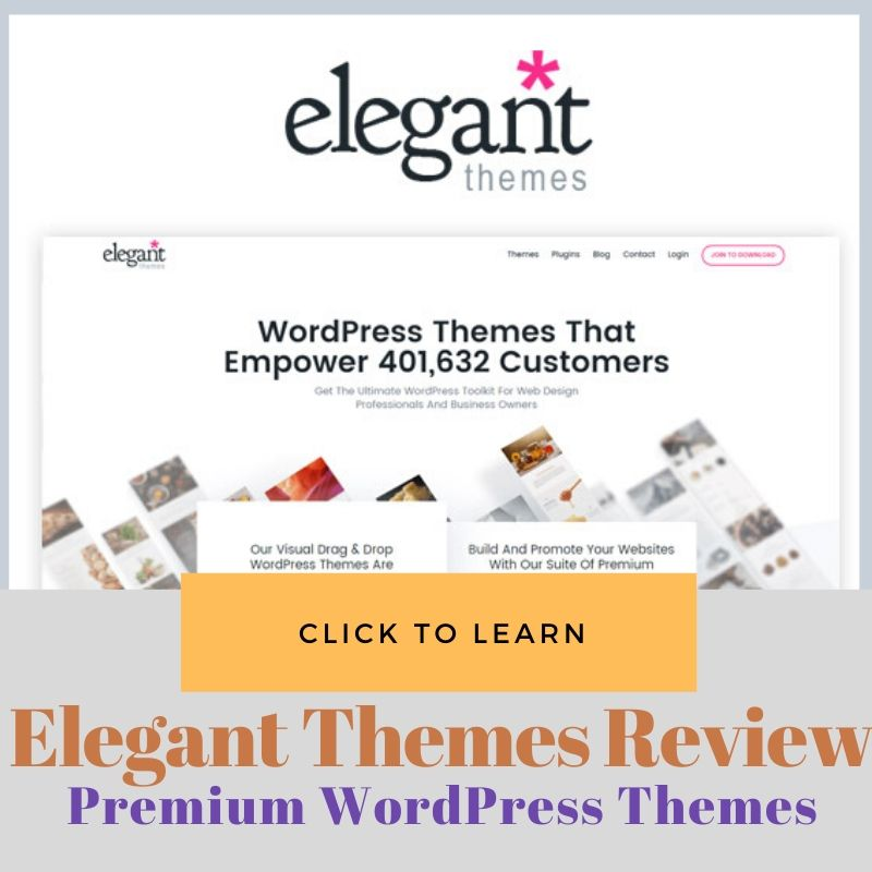 Best  WordPress Themes Elegant Themes