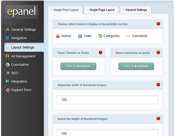 elegantthemes-review-epanel-layout-settings
